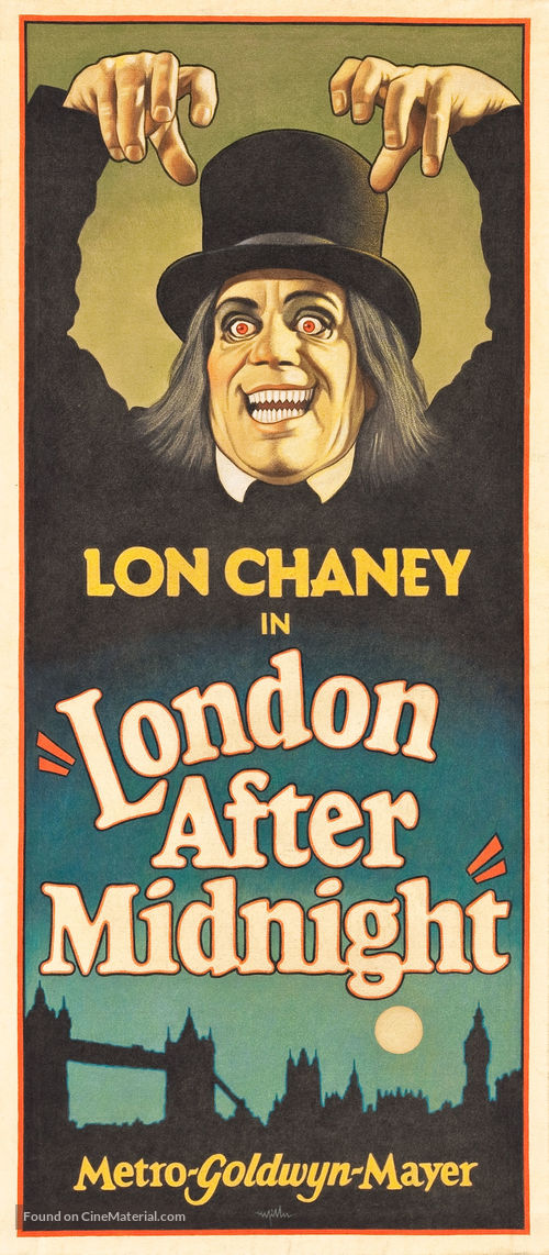 London After Midnight - Homage movie poster