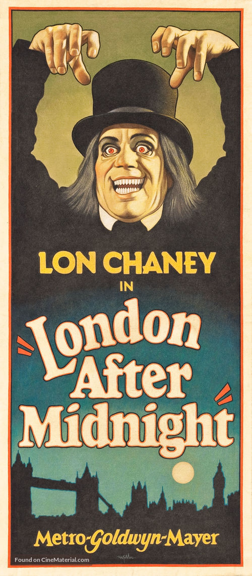 London After Midnight - Homage poster