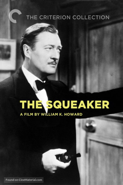 The Squeaker - DVD movie cover