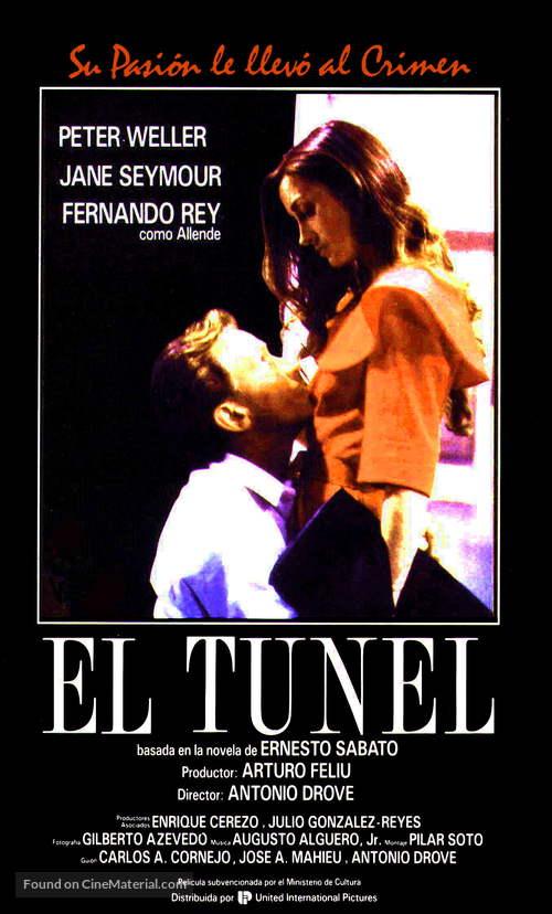 El túnel - Spanish Movie Poster