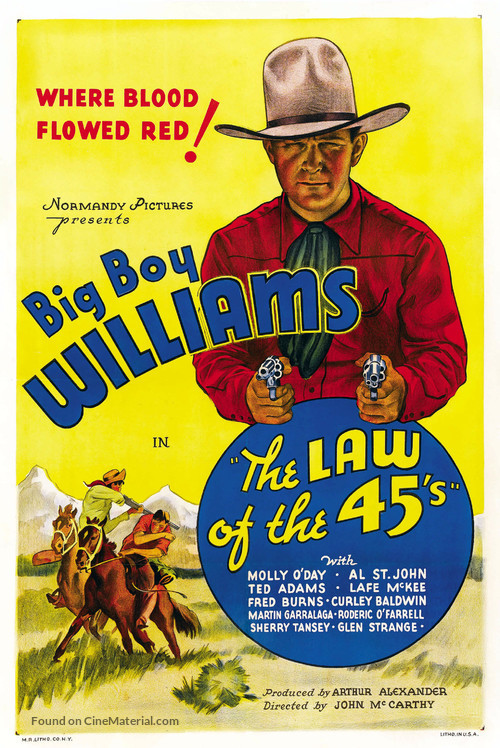 The Law of 45's - Movie Poster