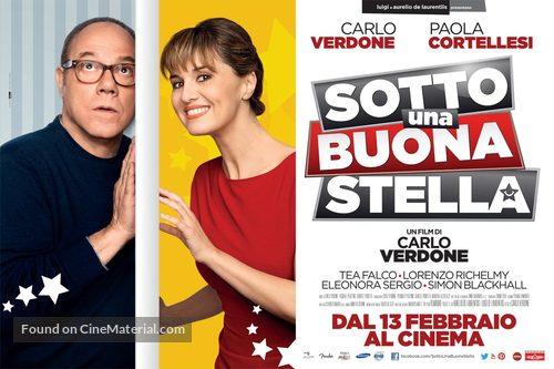 Sotto una buona stella - Italian Movie Poster