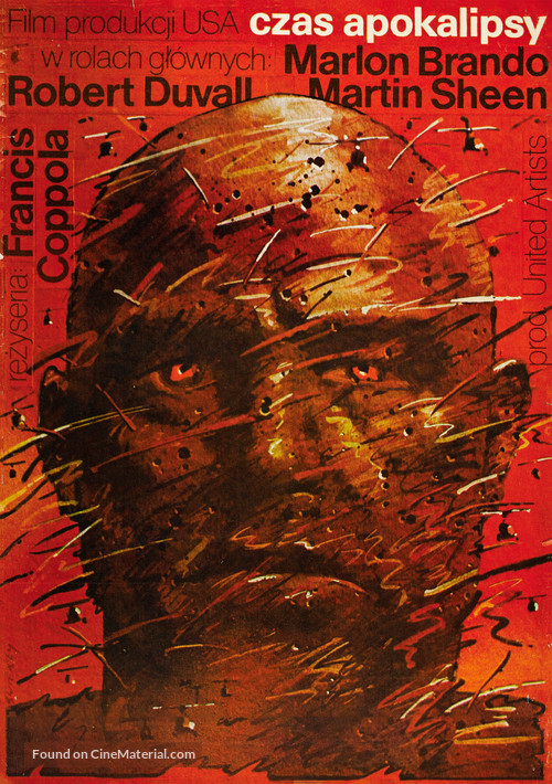 Apocalypse Now - Polish Movie Poster