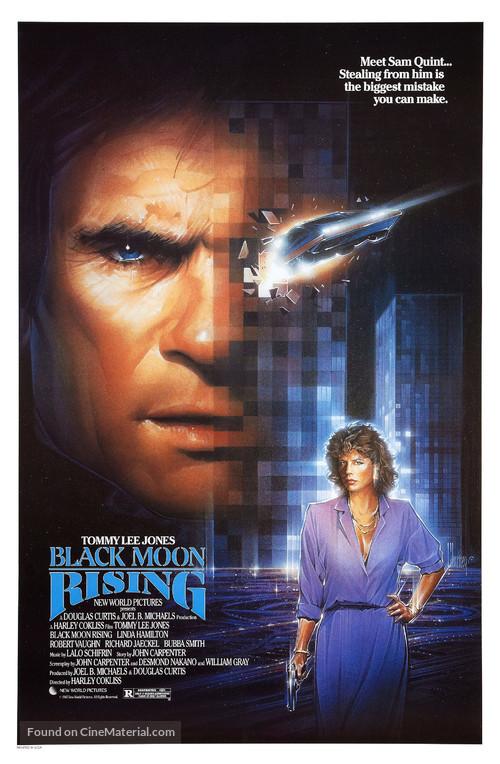 Black Moon Rising - Movie Poster