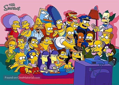 """The Simpsons"" - poster"