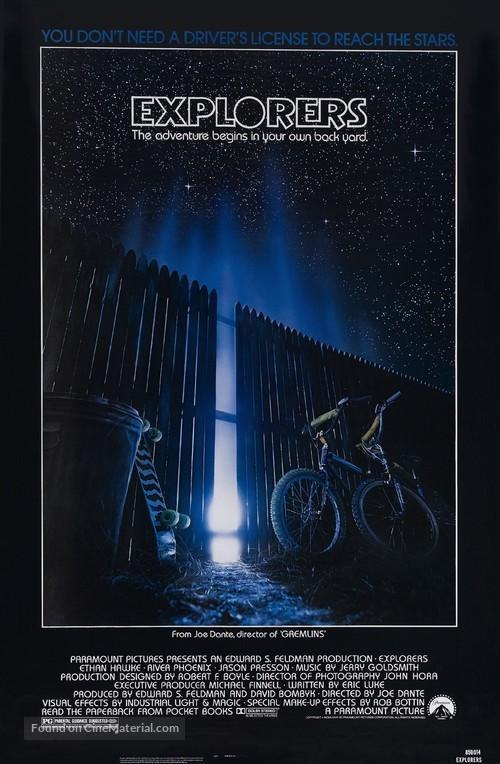 Explorers - Movie Poster