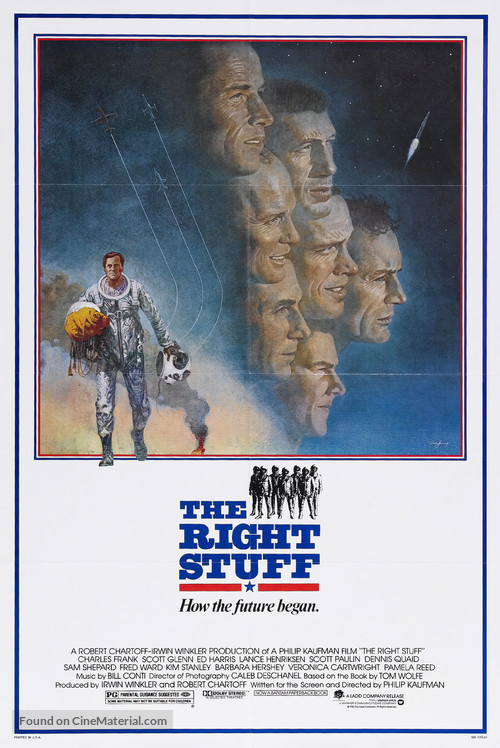 The Right Stuff - Movie Poster
