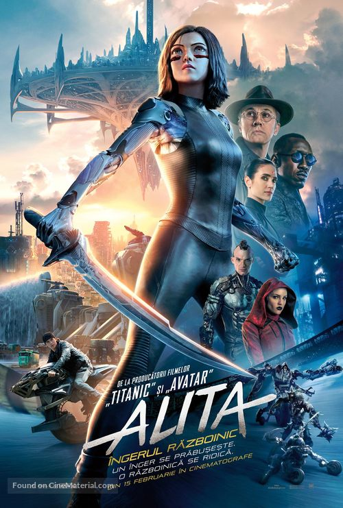 Alita: Battle Angel - Romanian Movie Poster