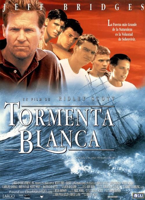 White Squall - Spanish Movie Poster