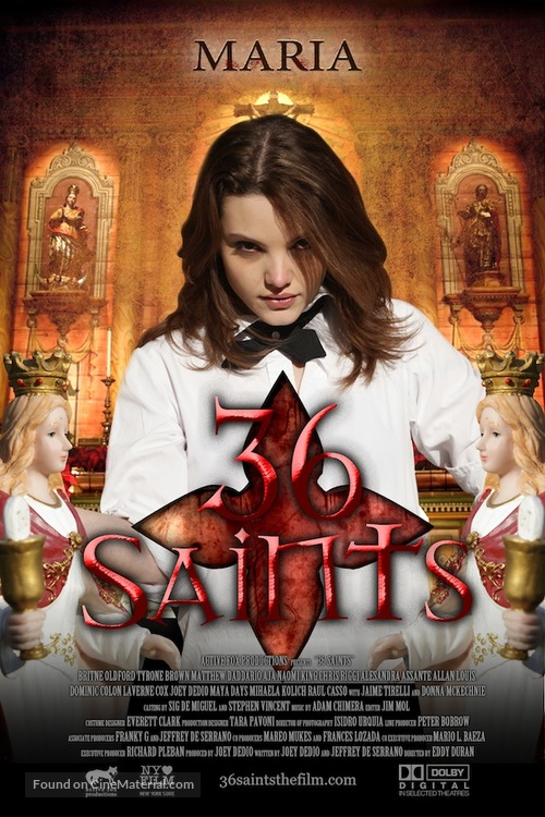 36 Saints - Movie Poster