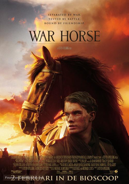 War Horse - Dutch Movie Poster