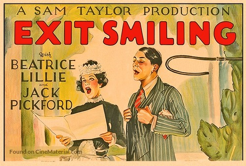 Exit Smiling - Movie Poster