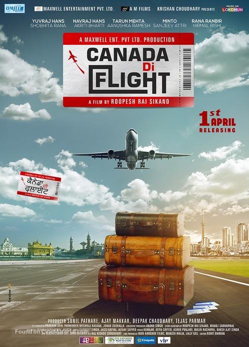 Canada Di Flight - Indian Movie Poster