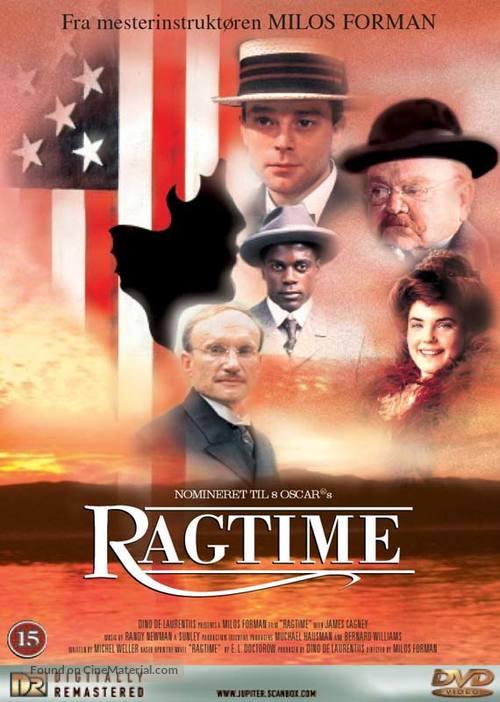 Ragtime - Danish DVD cover