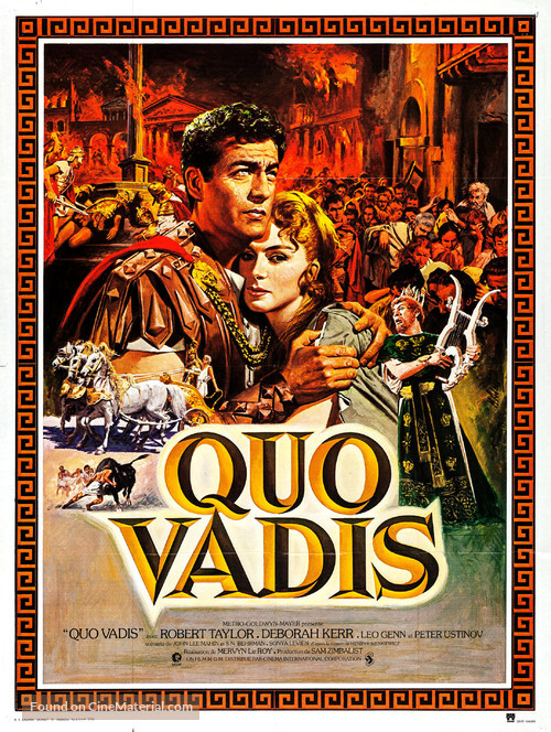 Quo Vadis - French Movie Poster