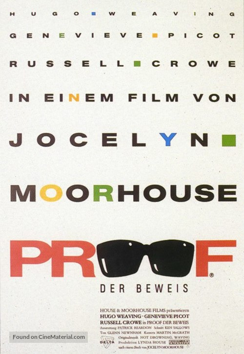 Proof - German poster