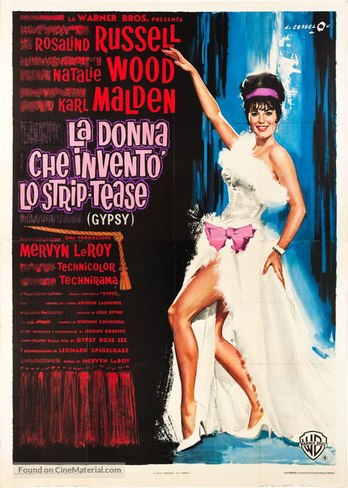 Gypsy - Italian Movie Poster