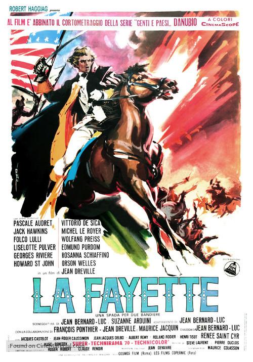 La Fayette - Italian Movie Poster