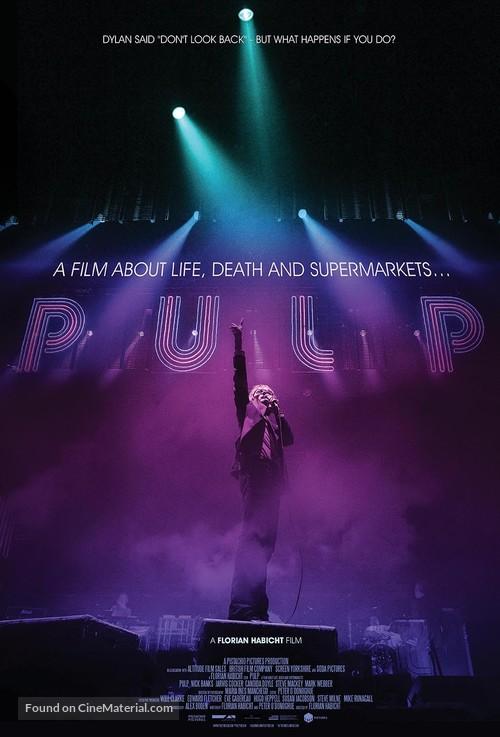 Pulp - British Movie Poster
