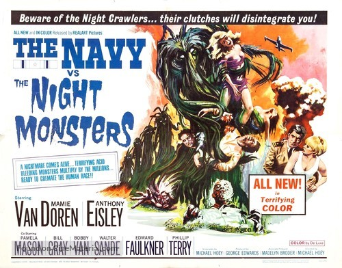 The Navy vs. the Night Monsters - Movie Poster