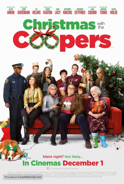 Love the Coopers - British Movie Poster