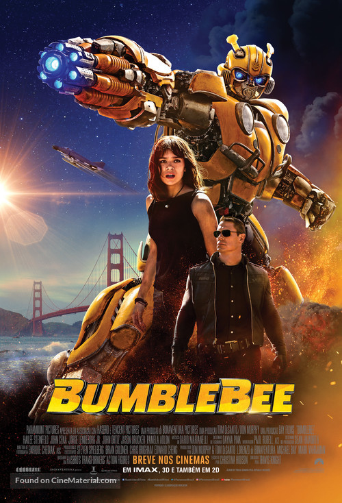 Bumblebee - Brazilian Movie Poster