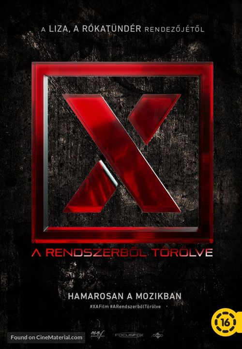 X. - Hungarian Movie Poster