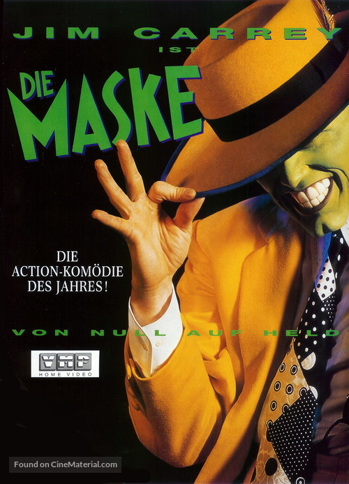 The Mask - German DVD cover