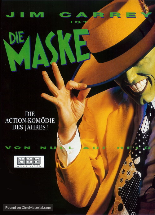 The Mask - German DVD movie cover