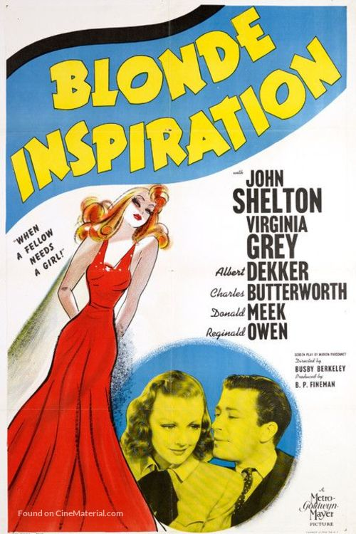 Blonde Inspiration - Movie Poster