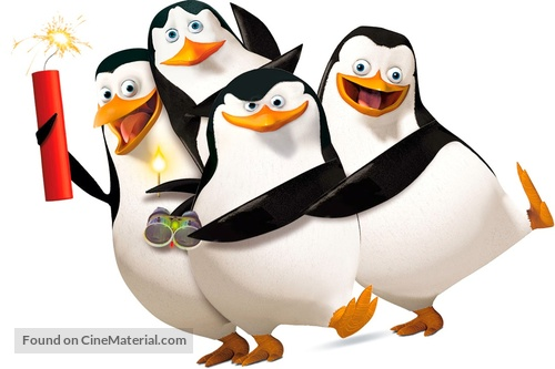 The Madagascar Penguins in: A Christmas Caper - Key art
