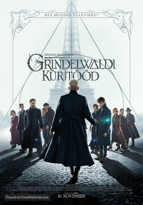 Fantastic Beasts: The Crimes of Grindelwald - Estonian Movie Poster
