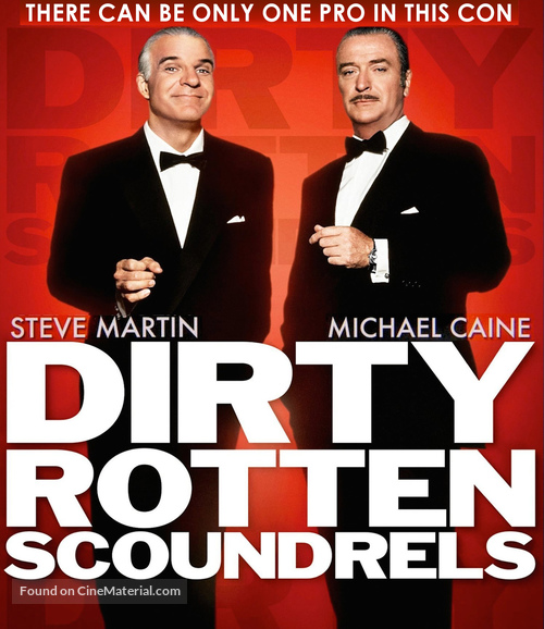 Dirty Rotten Scoundrels - Blu-Ray movie cover