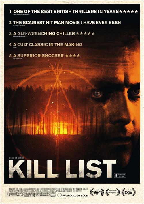 Kill List - British Movie Poster