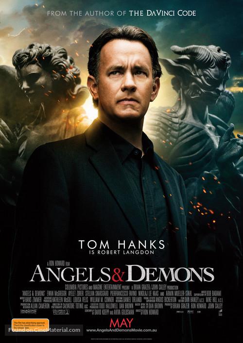 Angels & Demons - Australian Movie Poster