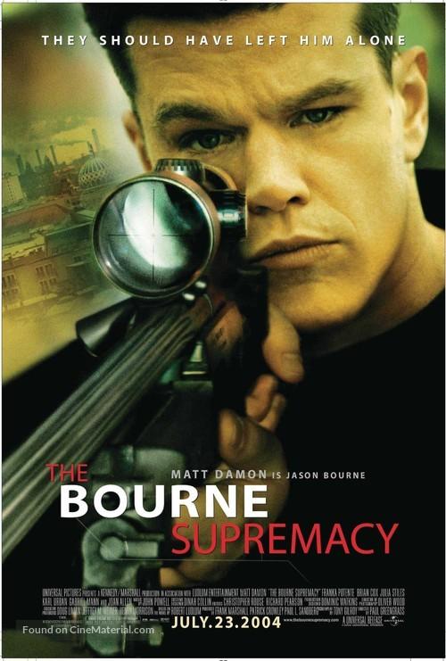 The Bourne Supremacy - Movie Poster