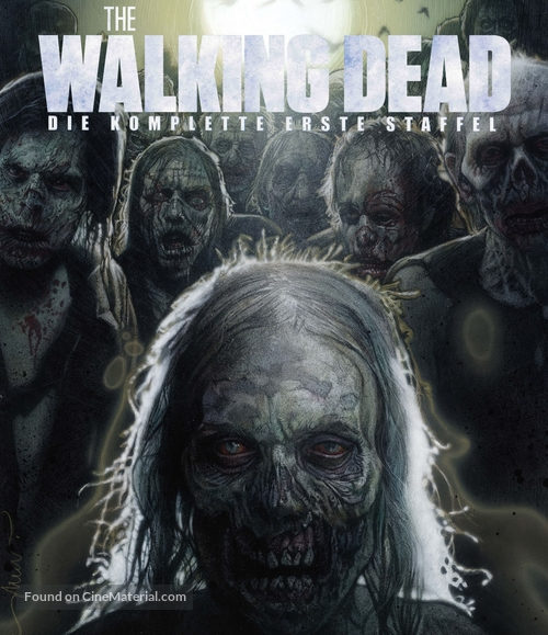 """""""The Walking Dead"""" - German Movie Cover"""