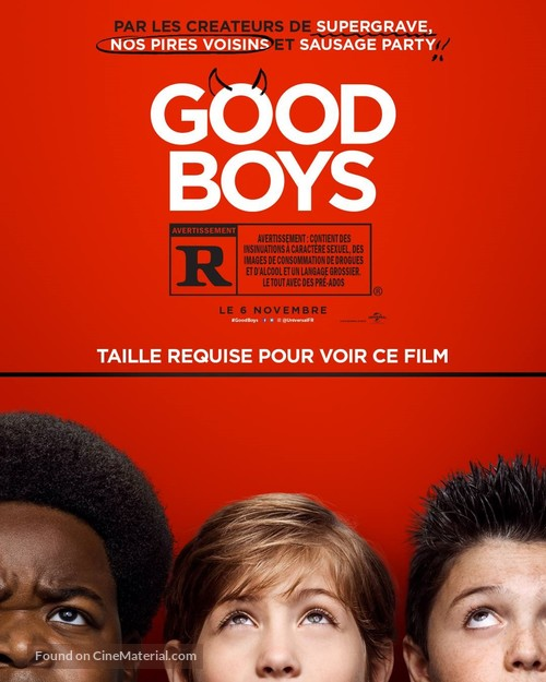 Good Boys - French Movie Poster