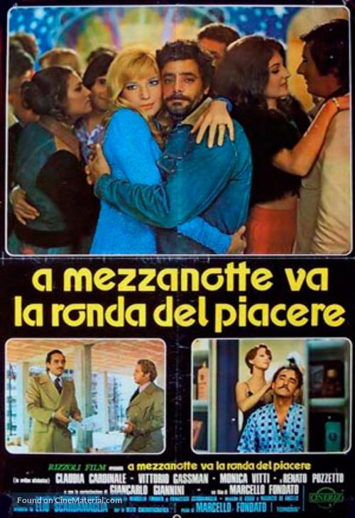 A mezzanotte va la ronda del piacere - Italian Movie Poster