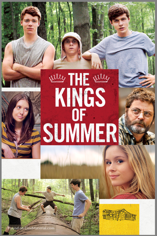 The Kings of Summer - DVD cover