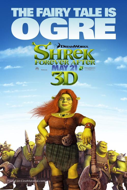 Shrek Forever After - Movie Poster