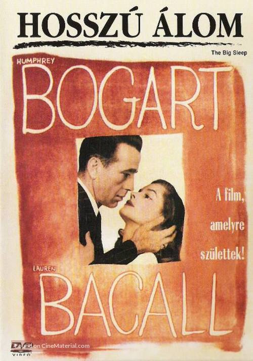 The Big Sleep - Hungarian DVD cover