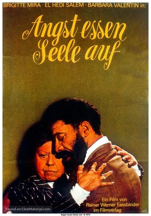 Angst essen Seele auf - German Movie Poster