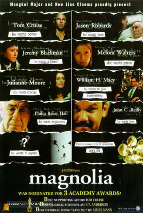 Magnolia - Thai Movie Poster