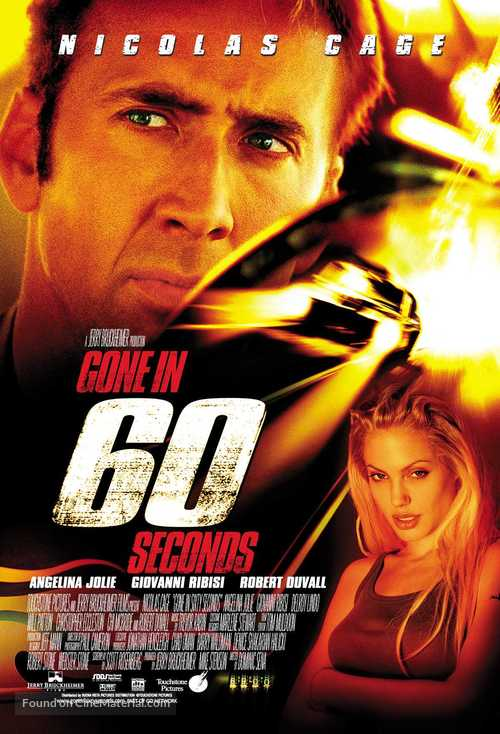 Gone In 60 Seconds - Movie Poster