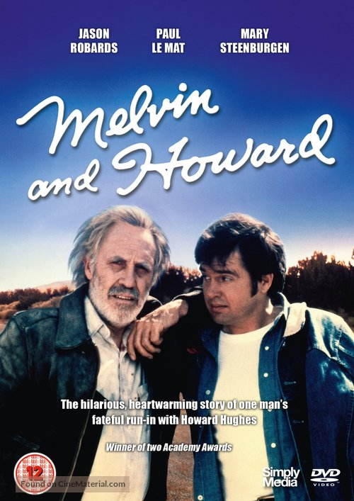 Melvin and Howard - British DVD movie cover