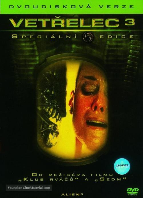 Alien 3 - Czech DVD movie cover