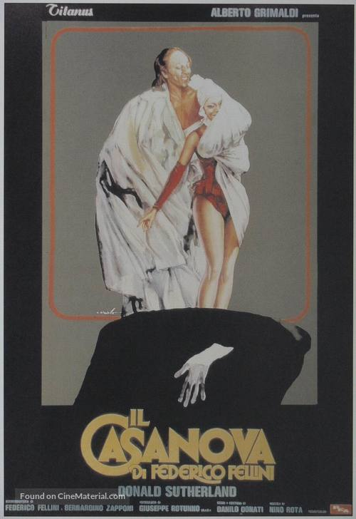 Il Casanova di Federico Fellini - Italian Movie Poster