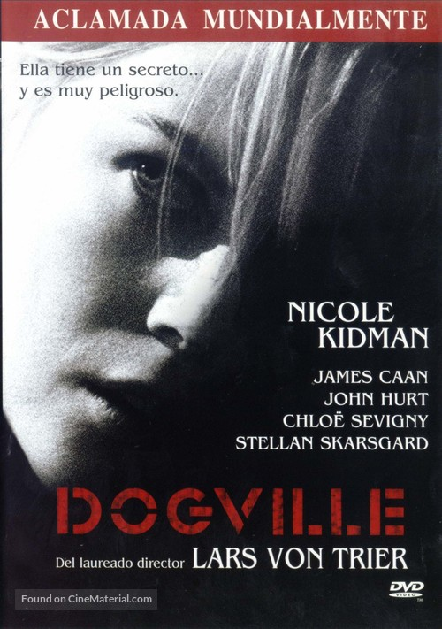 Dogville - Spanish DVD movie cover