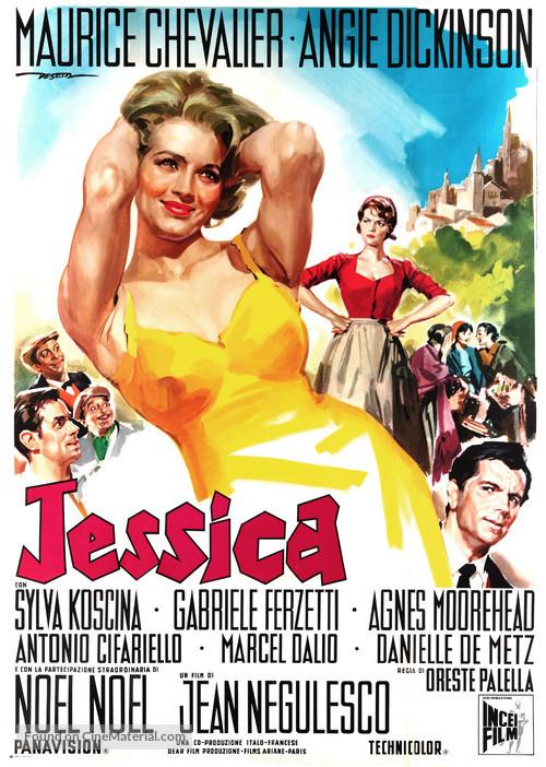 Jessica - Italian Movie Poster